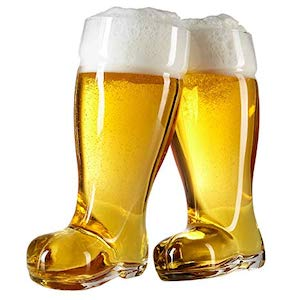 Beer Boot glass