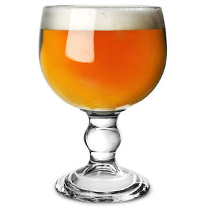 Goblet beer glass